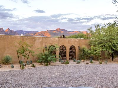 Photo for Unique Designer's Hacienda with Pool and Mountain Views on 2 acres