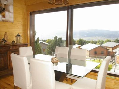 Photo for CHALET NEIGE ET SOLEIL 600 meters from the slopes of Eyne