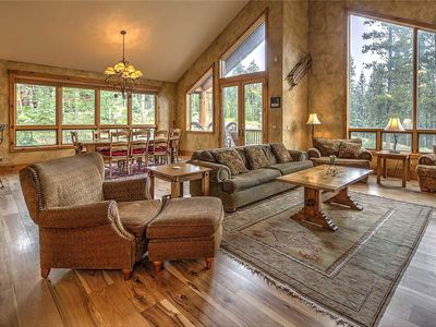 Photo for Ski-in/Ski-out, Incredible 4 bdrm mountain chalet, Private hot tub, Fantastic amenities, Sleeps 12!