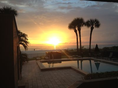 Photo for First Floor Direct Gulf and Pool View Two Bedroom/Two Bathroom Condo