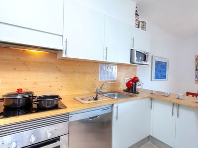 Photo for Lovely apartment for 5 people with TV, pets allowed and parking