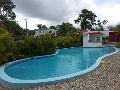 Guest-Friendly 1-Bedroom Studio in Downtown Sosua, with pool, close to the Beach