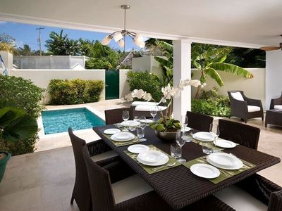Photo for PANDORA VILLA BARBADOS - Private pool with Sea views & 1 minute walk to Mullins Bay Beach