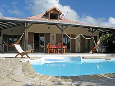 Photo for Luxury villa with private pool and ocean view near beaches in Martinique