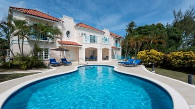 Photo for An Excellent Barbados Family Villa With Private Pool - 2 Min Walk To The Beach