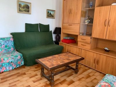 Photo for CHARMING APARTMENT IN A SUPERB RESIDENCE WITH TENNIS COURT AND SWIMMING POOL 100M FROM THE SEA -...