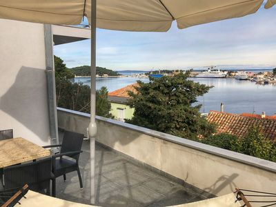 Photo for Montevideo - J. Wellington Wimpy apartment in Mali Losinj with WiFi, air conditioning, private park…