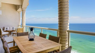 Photo for Penthouse w/Unobstructed Gulf of Mexico Views, In/Outdoor Pools, Beach Chairs!