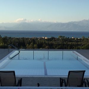 Photo for Family Villa with pool, sea and mountain views in tranquil setting