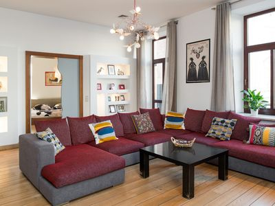 Photo for Luxury 1830 square feet Old Town apartment -3 bedrooms, 2 bathrooms, A/C, Wi-Fi
