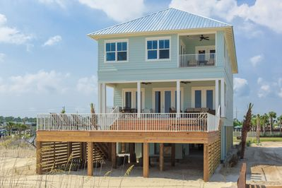 Directly-on-the-Gulf 3600 sq feet beautifully furnished. As good as it gets!!