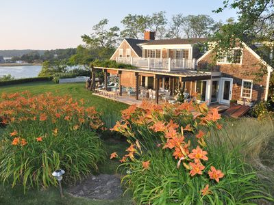 Photo for Eagle's Neck 10 acre Private Waterfront Compound, Ideal for families