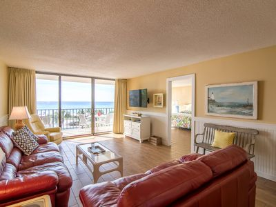 Photo for Beach Front -  2 BR - 2 Bath Deluxe  - Tower I - 3rd Floor