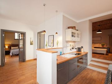 Stylish, family friendly oasis in the heart Potsdamer Parks