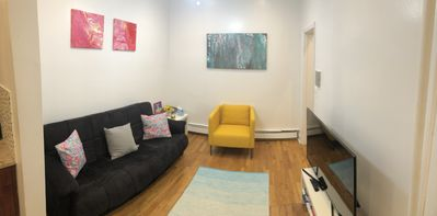 Photo for Airy, Trendy 3 Bdr Brownstone 20 minutes to Manhattan-Groups/Family