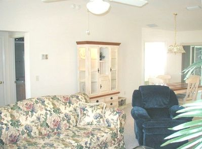 Sofa and Recliner in the Living Area.