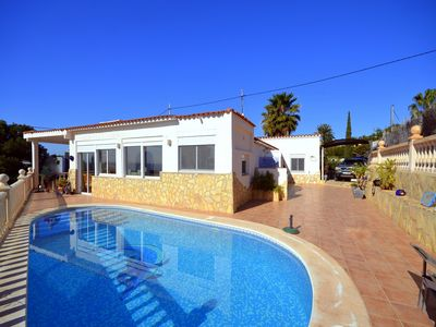 Photo for WONDERFUL VILLA WITH POOL, NO STEPS, WIFI, BEACH