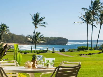 Photo for Poipu Sands 513: Oceanfront, Short Walk To Beach