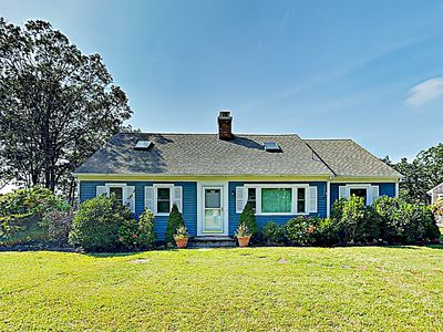 Exterior - Welcome to Falmouth! This classic Cape-style house is professionally managed by TurnKey Vacation Rentals.