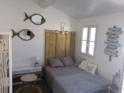 Photo for nice studio with heated pool and parking