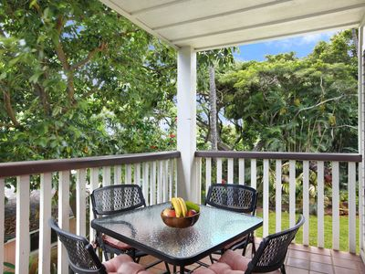 Photo for Waikomo Stream Villas #320: Nice Garden Views in Central Poipu!