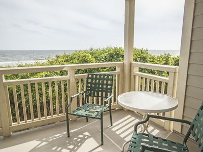 Photo for Sea-Anctuary: 2 BR / 2 BA condo in Caswell Beach, Sleeps 4