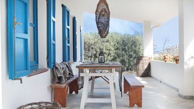 Photo for CASA PIRICONE / Comfortable, modern country house with sea views, WiFi, AC