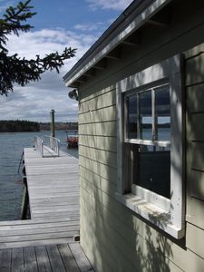 Photo for Coastal Maine cottage with dock