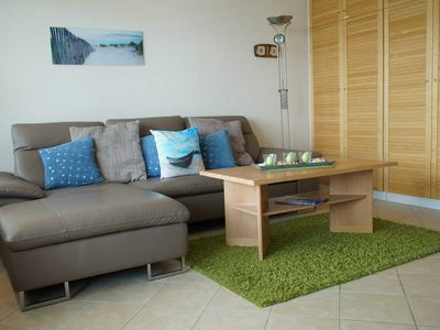 Photo for 202 - 3-room flat flat holiday park - 202 - cozy and maritime, gr. Balcony with Baltic Sea view