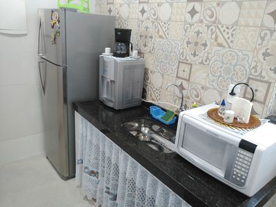 Photo for Apt 2 rooms with suite near Praia do Forte and Gastronomic Polo.