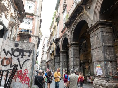 Photo for The apartment is located in the heart of the historic center of Naples