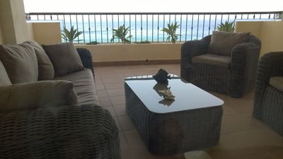 Photo for Beautiful  apartment with great sea views