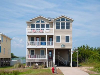 Photo for Stella Maris: South Nags Head, 4 bedroom, oceanside, private heated pool and hot tub.
