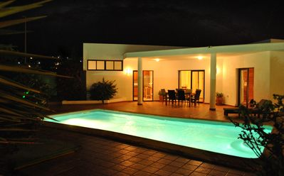 Photo for A Luxury, Detached Villa with Private Heated Pool & Secluded Gardens
