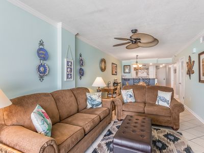 Photo for Beachy Keen---Beautiful updated condo, amazing views of the Gulf off Mexico