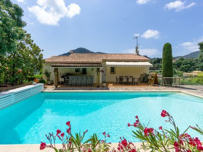Photo for EN PLEIN COEUR DE L'ESTEREL - Rez de villa - Villa for 2 people in Fréjus