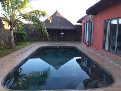 Photo for Charming villa with pool in Mauritius