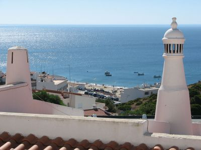 Photo for Cozy apartment with 180 Views Overlooking The Sea In Quiet Fishing Village