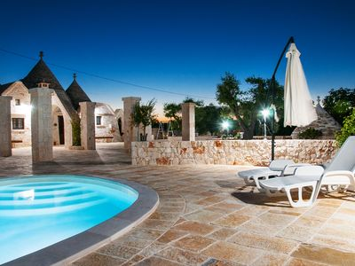 "Photo for Trullo ""Walnut Hill"" with pool and large garden"