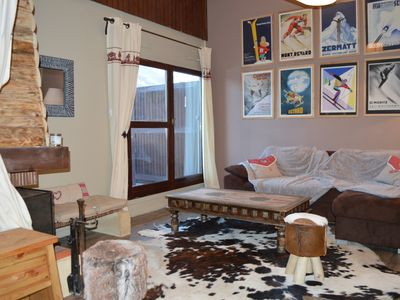 Photo for Apartment 60 m2 deco refined 5 minutes from the resort center
