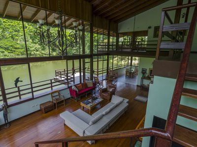 Photo for 4 BR Private Rain Forest Reserve Villa w/Pool and Lake