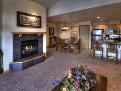 Photo for SUPER SALE 1/3 OFF COZY SKI CONDO PRES. WEEK FEB. 17-24 PERFECT FOR FAMILIES
