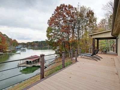 Photo for Amazing Lakefront Home with Panoramic Views of Lake Norman
