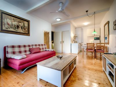 Photo for Apartment in the XVIII century house/villa, next to the sea, in Komiza (Vis)