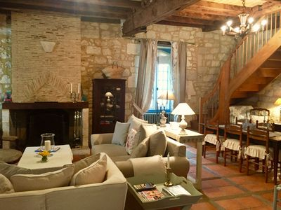 Photo for Dream Medieval Stone Villa in Popular Market Village, ideal for Couples & Family