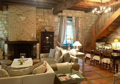 This 14th century fully-renovated gem offers modern luxury and old world charm.