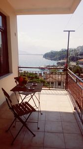 Photo for Beautiful sea-view flat in lovely old town * 4th floor flat
