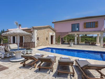 Photo for Villa Biniaco - Quiet and Rustical Villa with Pool