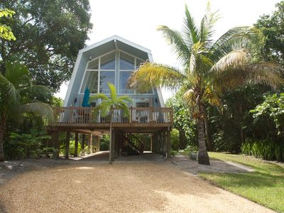 Photo for Island Getaway: Charming A-Frame Island Cottage on EastEnd Near Beach Access!