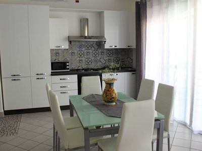 Photo for Homerez last minute deal - Spacious house in Balestrate and Wifi
